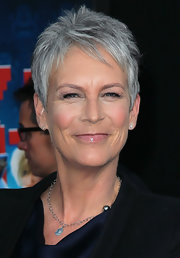 Jamie Lee Curtis worked a stylish pixie cut at the premiere of 'Wreck-It Ralph.'