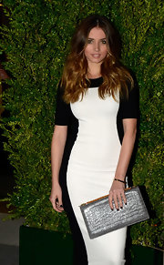 Ana de Armas went for minimal styling with a gold bangle at the opening of the new Stella McCartney store in Barcelona.