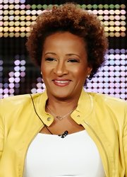 Wanda Sykes sported a short curly 'do at the 2009 Summer TCA Tour.