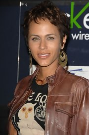 Nicole Ari Parker wore her hair in a textured pixie at the Declare Yourself 2008 Celebrates 18 event.