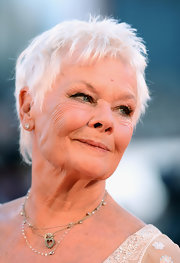 Judi Dench looked trendy with her pixie at the Venice Film Festival premiere of 'Philomena.'
