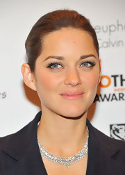 Marion Cotillard went for simple elegance with this slicked-back ponytail at the Gotham Independent Film Awards.