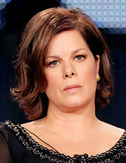 Marcia Gay Harden wore her hair in a gently wavy bob at the 2011 Winter TCA Tour.
