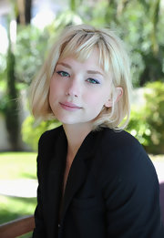Haley Bennett looked adorable wearing this blonde bob at the 2010 Cannes Film Festival.