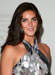Hilary Rhoda kept it casual with this long, tousled hairstyle at the special screening of 'The September Issue.'