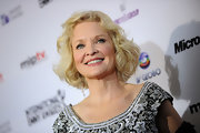 Christine Ebersole looked ladylike with her curly bob at the 2010 International Emmy Awards.