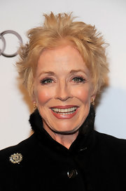 Holland Taylor attended the Hall of Fame Gala rocking a messy hairstyle.
