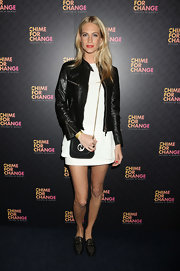Poppy Delevingne donned studded loafers for the 'Chime For Change: The Sound Of Change Live' concert.