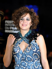 Marion Cotillard looked totally punky with her smoky eyes and messy hair at the Marrakech Film Festival opening ceremony.