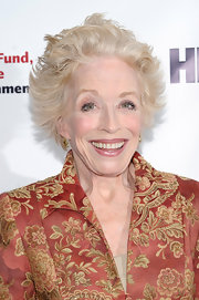 Holland Taylor sported a windblown hairstyle at the 2013 Actors Fund Gala.