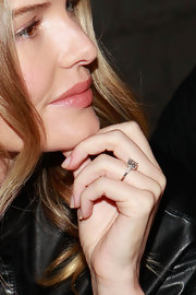Kate Bosworth flashed her gorgeous engagement ring while attending the Proenza Schouler fashion show.