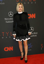 Trish Summerville's little black dress at the Style Awards looked like a girly 'Star Trek' costume.