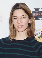 Sofia Coppola kept it casual with this flippy 'do at the First Time Fest opening night party.