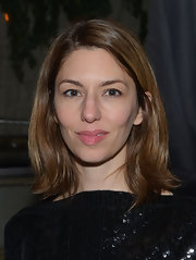 Sofia Coppola sported a simple yet stylish flippy hairstyle at the after-party for 'A Glimpse Inside the Mind of Charles Swan III.'