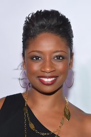 Montego Glover looked cool with her fauxhawk at the Tie the Knot Spring collection launch.