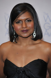 Mindy Kaling stayed classic with this mid-length bob at the 2009 Writers Guild Awards.