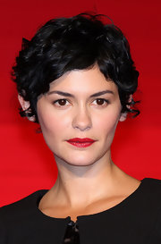 Audrey Tautou wore her hair in a short wavy style at the Japan premiere of 'Coco Avant Chanel.'