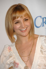 Rachael Leigh Cook looked cute with her graduated bob and choppy bangs at the 2008 Inspiration Awards.