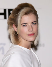 Agyness Deyn went retro with this teased bob at the gala screening of 'Pusher.'