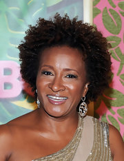 Wanda Sykes sported a cool curly hairstyle at the HBO Emmys after-party.