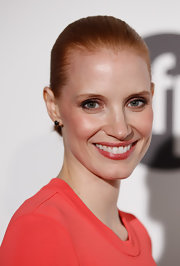 Jessica Chastain rocked a Croydon facelift at the Women in Film celebration in Cannes.