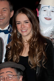 Pauline Ducruet looked beautiful with her long wavy hairstyle at the 34th Monte-Carlo International Circus Festival.