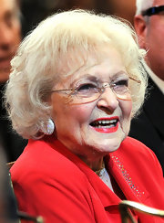 Betty White sported a simple bob at the 2011 AFI Life Achievement Award.