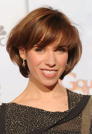 Sally Hawkins showed off a stylish bob at the 2010 Golden Globes.