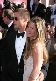 Jennifer Aniston attended the 2004 Primetime Emmy Awards wearing a simple yet elegant silver bangle.