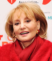 Barbara Walters sported a teased bob at the 2012 Go Red for Women luncheon.
