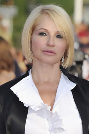 Ellen Barkin attended the Deauville Film Festival opening ceremony wearing her hair in a classic bob.