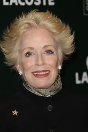 Holland Taylor rocked anime-inspired hair at the 2011 Costume Designers Guild Awards.