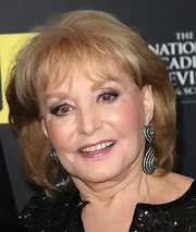 Barbara Walters wore her hair in a bob with wispy bangs at the 2012 Daytime Entertainment Emmy Awards.
