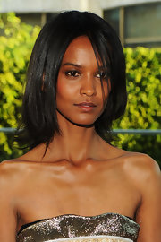 Liya Kebede sported a bouncy layered cut at the CFDA Fashion Awards.