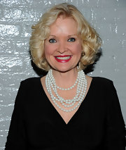 Christine Ebersole attended the 2011 Nightlife Awards wearing her hair in a curly bob.