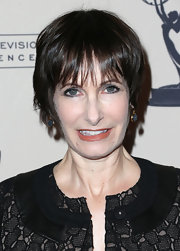 Gale Ann Hurd sported a short 'do with choppy bangs at the Evening with 'The Walking Dead' event.