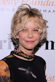Meg Ryan looked cute with her mussed-up curls at the premiere of 'Serious Moonlight.'