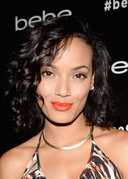 Selita Ebanks looked charming with her short curly 'do at the bebe Fall 2013 launch.