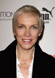 Annie Lennox sported a pixie cut at the Peace One Day concert.