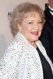 Betty White sported a short curly hairstyle at the Hero Dog Awards.