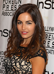 Camilla Belle looked as lovely as ever with her ultra-girly waves at the InStyle HFPA party.