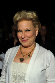 Bette Midler looked cool with her curly fauxhawk at the Michael Kors Fall 2011 show.