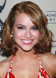 Chrishell Stause attended the Daytime Emmy nominees cocktail reception wearing a cute curly 'do.