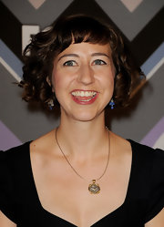Kristen Schaal kept it youthful with this curly bob at the Fox All-Star Party.