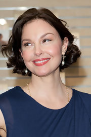 Ashley Judd looked charming wearing this curly bob at the United Nations Office on Drugs and Crime event.