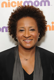 Wanda Sykes attended the NICKMOM presentation wearing her natural curls.