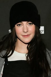 Jena Malone went retro with this cloche at the Sundance screening of 'The Go-Getter.'