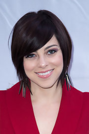 Krysta Rodriguez looked hip with her short scene cut at the opening of 'Macbeth.'