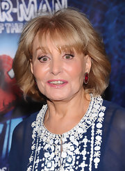 Barbara Walters attended the Broadway opening of 'Spider-Man: Turn Off the Dark' wearing her hair in a classic bob.