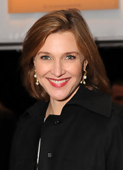 Brenda Strong was spotted during Mercedes-Benz Fashion Week wearing this classic bob.